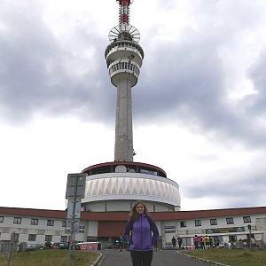 Jana Konečná na vrcholu Praděd (9.9.2018 14:03)