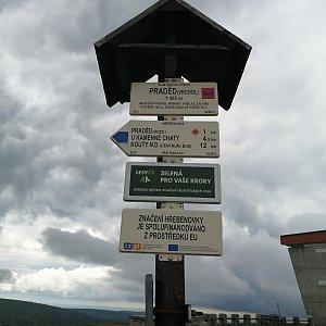 Jiří Tomaštík na vrcholu Praděd (1.7.2021 14:48)