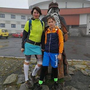 Petra Kosarkova na vrcholu Praděd (16.9.2021 14:42)