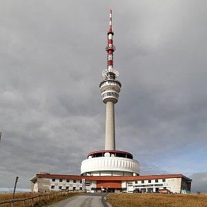 ZdenkaV na vrcholu Praděd (22.9.2021)