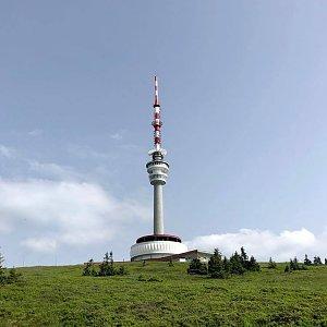 Terez Valčíková na vrcholu Praděd (13.7.2021 13:54)
