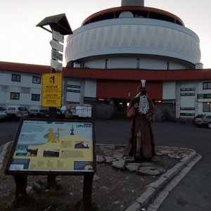 Martin Kadlec na vrcholu Praděd (2.10.2021 18:30)