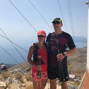 Kateřina Turčeková na vrcholu Pantokrator (25.7.2021 12:00)