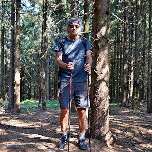 Jarda Vála na vrcholu Žulový vrch (7.9.2021)