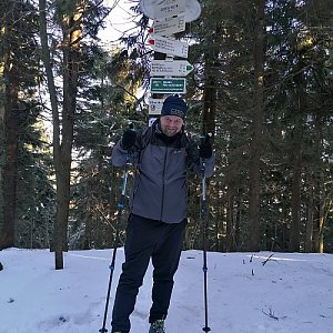 Ombre_Zamakejsi.cz na vrcholu Čertův mlýn (12.1.2020 12:40)