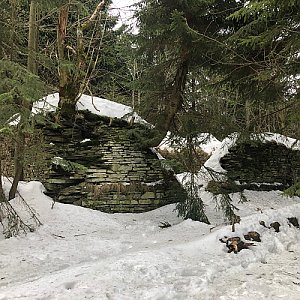 Jiří Šrámek na vrcholu Čertův mlýn (18.1.2020 13:48)