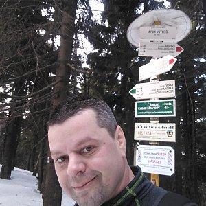 Ombre_Zamakejsi.cz na vrcholu Čertův mlýn (26.1.2020 13:10)