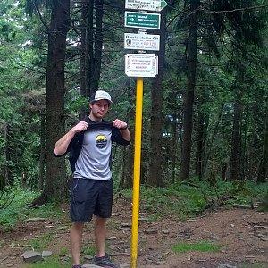 Jack Skurello na vrcholu Čertův mlýn (16.6.2018 13:30)