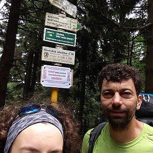 Babunka159 na vrcholu Čertův mlýn (18.6.2018 13:30)