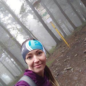 Michelle Sýkorová na vrcholu Čertův mlýn (30.5.2020 10:44)
