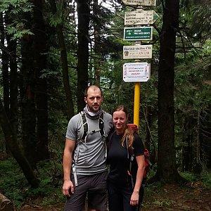 Paja&Tom na vrcholu Čertův mlýn (7.7.2018 12:29)