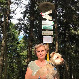 Magda na vrcholu Čertův mlýn (28.6.2020 16:16)