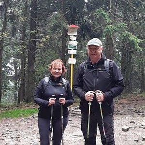 Arni na vrcholu Čertův mlýn (17.9.2020 11:51)