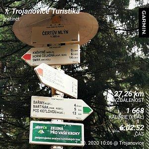 Medvěd Codiak na vrcholu Čertův mlýn (7.10.2020 13:00)