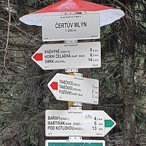 Peťulik na vrcholu Čertův mlýn (24.4.2021 15:58)