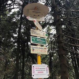Veronika Spáčilová na vrcholu Čertův mlýn (5.6.2021 12:50)