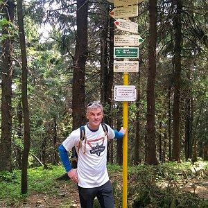 Jaroslav Macura na vrcholu Čertův mlýn (12.6.2021 10:27)