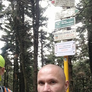 Pavel Krömer na vrcholu Čertův mlýn (11.5.2019 14:09)