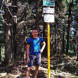 PeteBukař na vrcholu Čertův mlýn (25.5.2019 15:00)