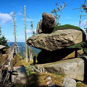 lubob na vrcholu Polední kameny (16.9.2012 15:00)