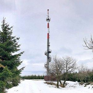 Martin Matějka na vrcholu Vlčí hora (3.3.2019 14:08)