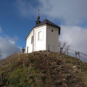 Eliška na vrcholu Vyskeř (29.11.2020 11:43)
