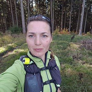 Marcela Kubíčková na vrcholu Klín (17.10.2021 13:42)