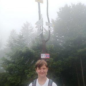 Arnošt na vrcholu Klimczok (24.8.2021 14:36)