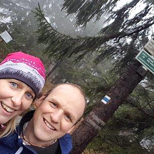 Michaela Karásková na vrcholu Jeřáb (15.11.2020 13:58)