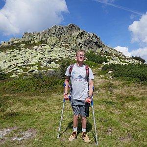 Mountainer na vrcholu Violík (20.8.2020 12:12)