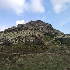 Eliška na vrcholu Violík (16.6.2021 9:40)
