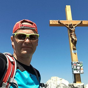 ZetBé na vrcholu Grosser Schoberstein (31.7.2020 12:53)