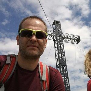 ZetBé na vrcholu Brunnkogel (29.7.2020 14:14)