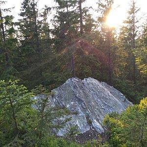 Eliška na vrcholu Struhadlo (16.6.2021 20:00)