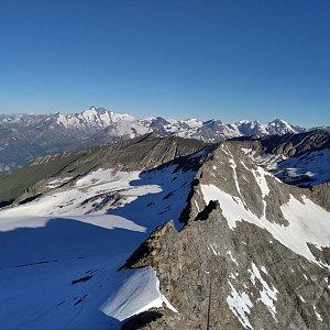 megalodon na vrcholu Goldzechkopf (6.7.2021 9:00)