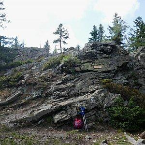 Mountainer na vrcholu Janova skála (19.8.2020 16:05)