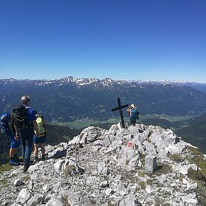 martenzites na vrcholu Admonter Kalbling (12.6.2020 10:40)