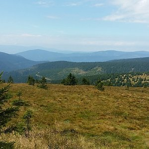 Jan Čech na vrcholu Vysoká hole (5.8.2018 0:00)