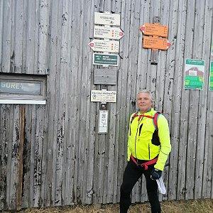 Jaroslav Hrabuška na vrcholu Vysoká hole (31.5.2021 11:04)