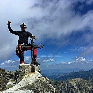 Patejl na vrcholu Gerlachovský štít (10.7.2020 11:40)