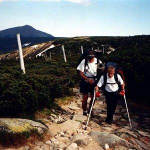 Mountainer na vrcholu Malý Šišák (24.5.2001 17:20)