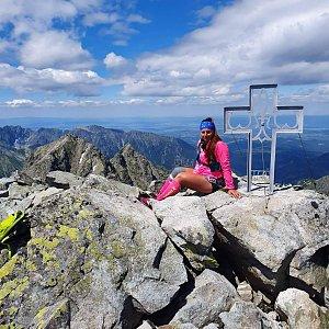 Paula Siudová na vrcholu Vysoká (6.7.2019 12:00)