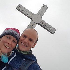 Michaela Karásková na vrcholu Eisenerzer Reichenstein (16.7.2020 15:54)