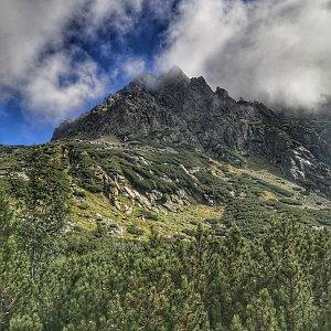 Zuzka Brožková na vrcholu Rysy (8.9.2020 10:45)