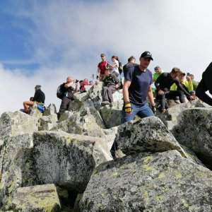 Krakonoš na vrcholu Rysy (11.9.2020 11:34)