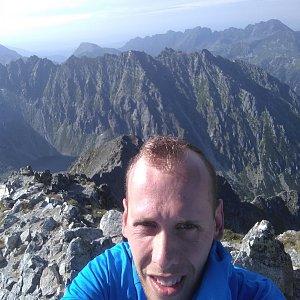 Radek na vrcholu Kriváň (31.7.2020 8:43)