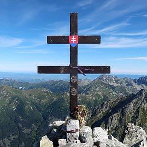 Šárka na vrcholu Kriváň (28.8.2020 9:29)