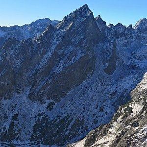 Daniel Ľach na vrcholu Veľká Lomnická veža (21.11.2020 12:56)
