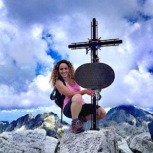 Mársy Montblanc na vrcholu Slavkovský štít (22.8.2020 18:57)