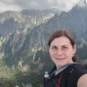 Zdeňka Máchová na vrcholu Slavkovský štít (4.7.2020 13:32)